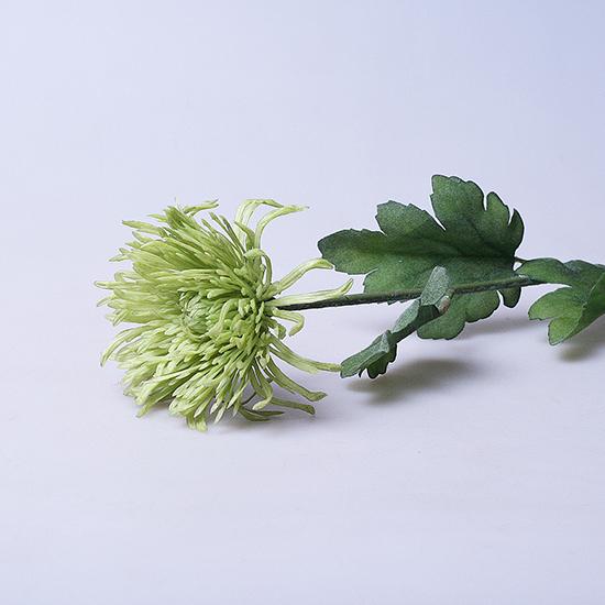 Хризантема искусственная зеленая 6-286