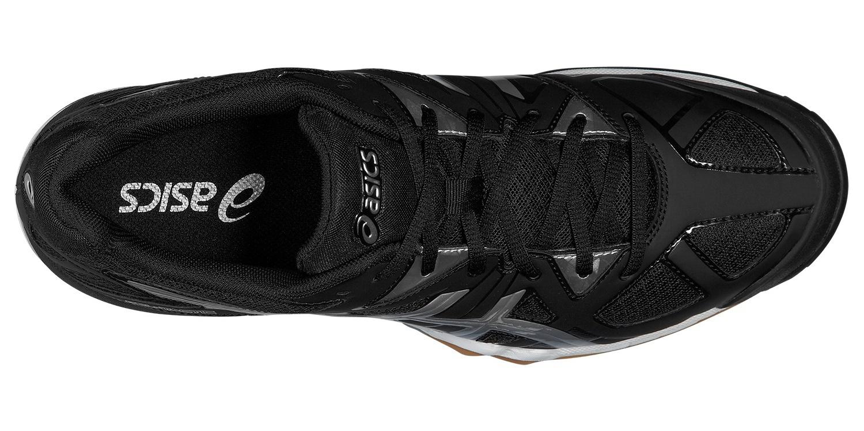 Мужские кроссовки для волейбола Asics Gel-Tactic (B504N 9099) черные фото
