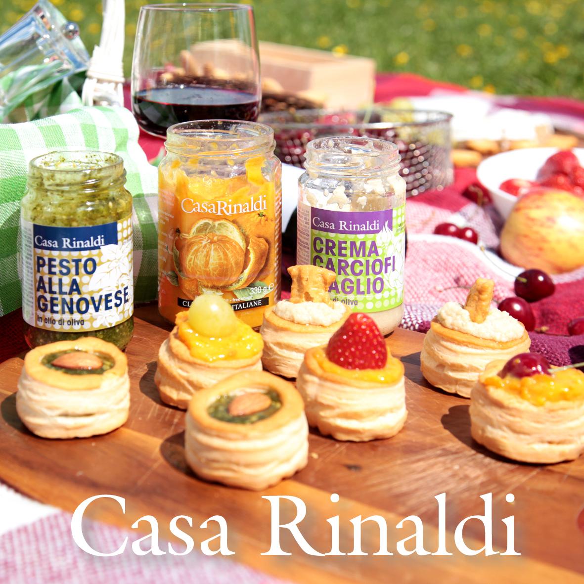 Крем-паста Casa Rinaldi из артишоков с чесноком в оливковом масле