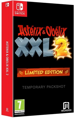NS: Asterix and Obelix XXL2 Limited edition (английская версия)