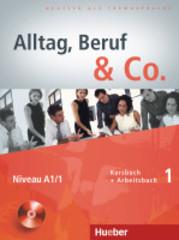 Alltag, Beruf & Co. 1, Kursbuch + Arbeitsbuch +...