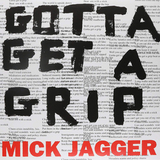 Mick Jagger ‎/ Gotta Get A Grip, England Lost (12' Vinyl Single)