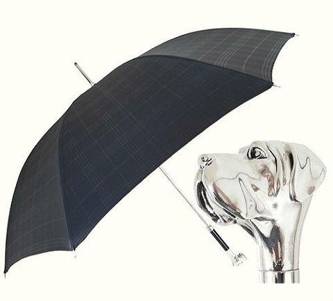 Зонт-трость Pasotti 6434-19-27 Silver Labrador