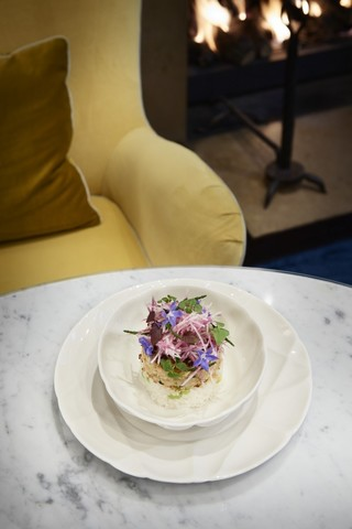 Фарфоровый салатник 17 см, белый, артикул 650736, серия Succession