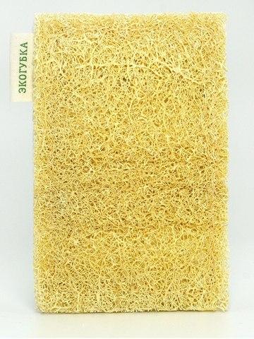 Губка целлюлозная с натуральной люффой