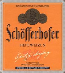 Пиво Schofferhofer Hefeweizen