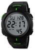Часы SKMEI 1068 - Черный + Зеленый