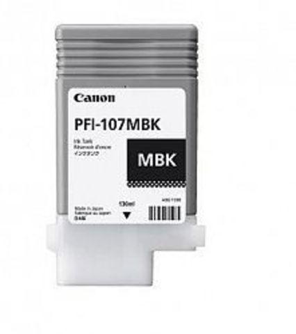Картридж Canon PFI-107MBK matte black (черный матовый) для Canon iPF660, iPF680, iPF685, iPF770, iPF780, iPF785