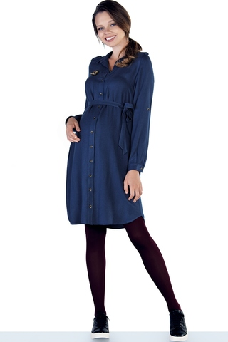 Платье 09831 синий