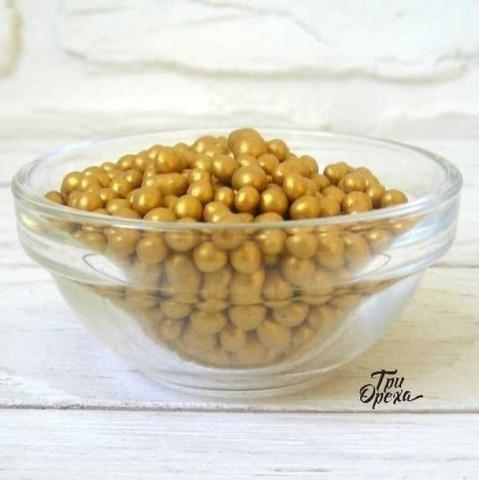 Декор Драже шоколадное золотой BALDEN, 400 гр.