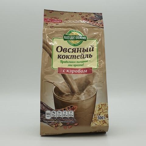 Коктейль овсяный с кэробом КОМПАС ЗДОРОВЬЯ, 300 гр