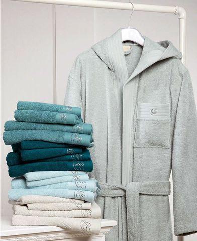 Элитный халат махровый Crociera серый от Blumarine