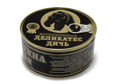 Тушеное мясо медведя Деликатес Дичь, 325г