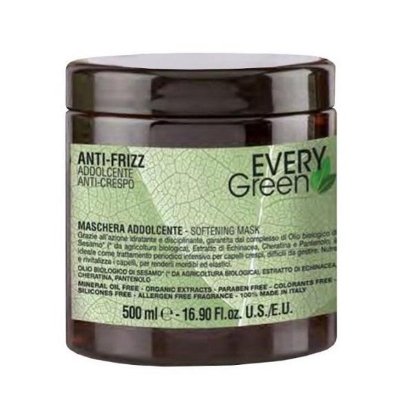 Маска для вьющихся волос Dikson Every Green Anti-Frizz Mashera Idratante 500мл
