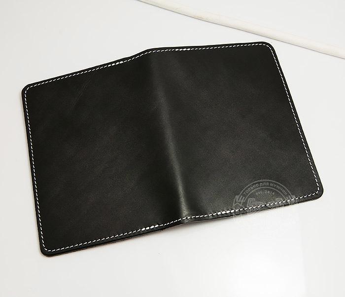 WB134-1 Кошелек с отделением для паспорта, карт и окошком. «Boroda Design» фото 03