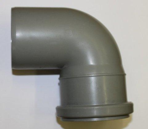 Уголок с муфтой (колено) для биотуалетов