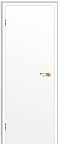 Дверь Краснодеревщик ДГ 200, цвет белый, глухая