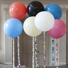 Большой шар с гелием 90 см. Выбор цвета