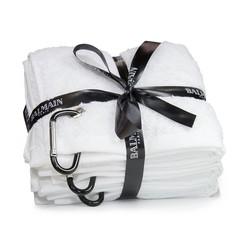 Balmainhair Белое полотенце с карабином