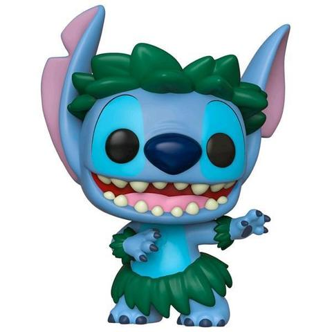 Фигурка Funko POP! Vinyl: Disney: Lilo & Stitch: Stitch in Hula Skirt (Exc)