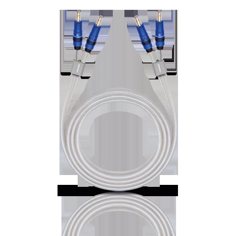 Oehlbach Silverline Speaker Cable 2x2,5mm Banana B96 2.5m, кабель акустический