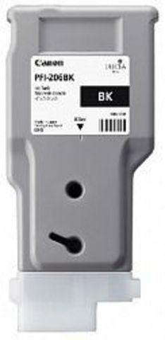 Картридж Canon PFI-206BK black (черный) для imagePROGRAF 6400/6450