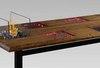 Стол с биокамином Firetable Six 2200MS