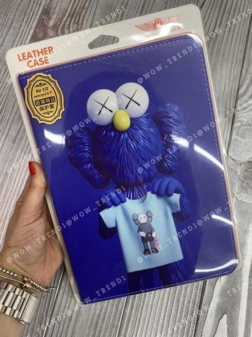 Чехол Slim Case iPad 9.7 (2017/18) /Kaws ultramarine/