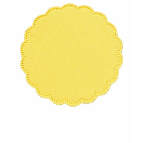 Подставка бумажная Tork д9, 8сл желтая 250шт./уп. 474472/470244
