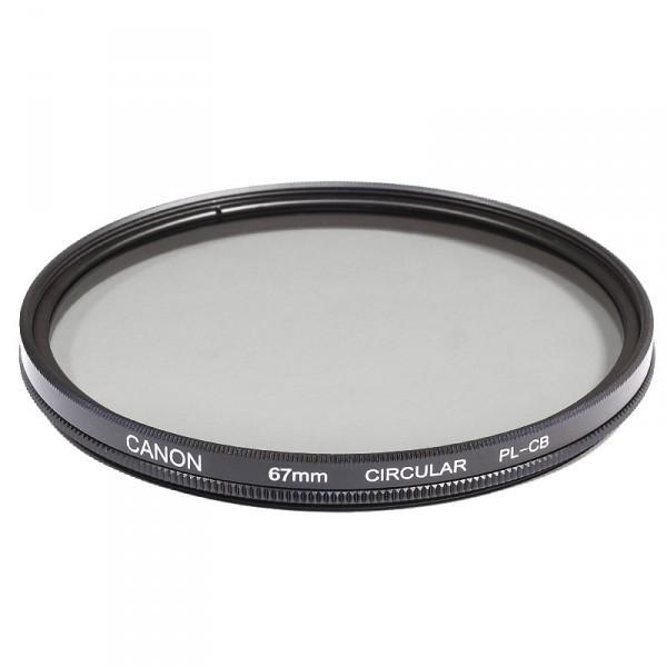 Поляризационный фильтр Canon 62mm Circular Polarizer PL-CB Original (светофильтр для фотоаппарата с диаметром объектива 62мм)