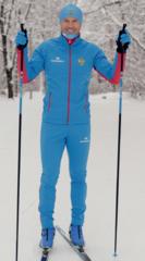 Элитный утеплённый лыжный костюм Nordski Elite RUS мужской 2019