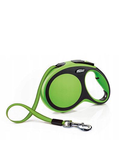 Flexi поводок-рулетка S, ремень 5 м на 15 кг (зеленый)