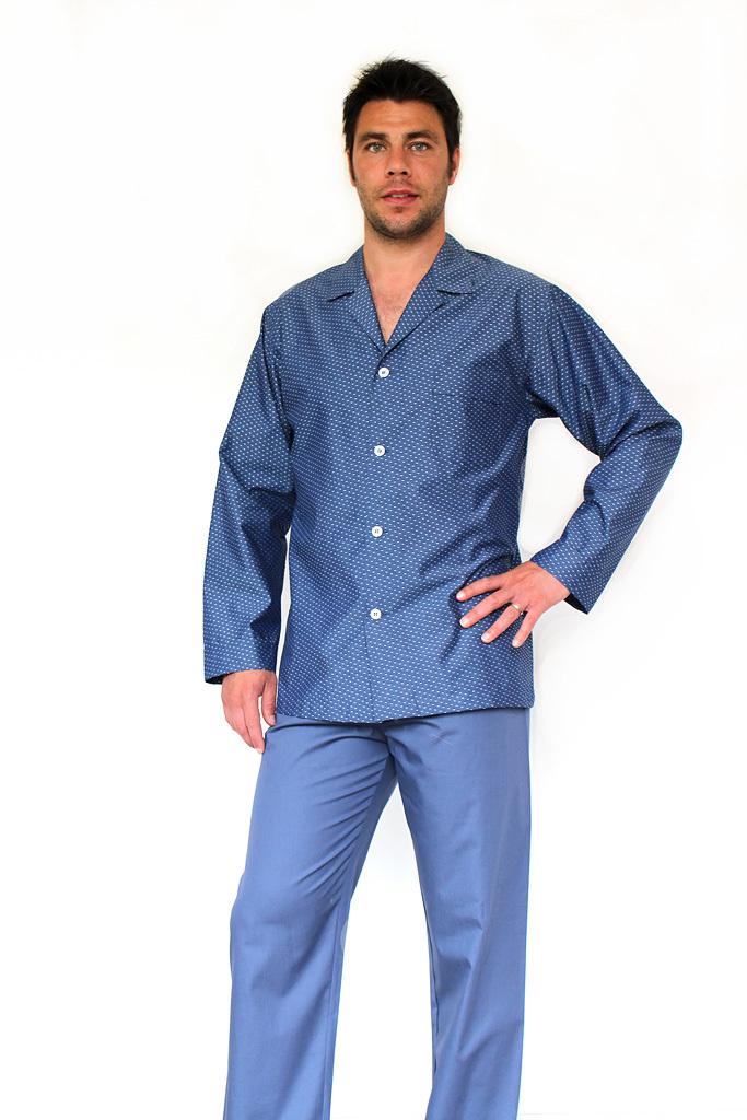 Мужская пижама в горошек B&B