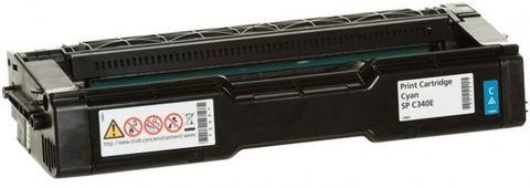 Принт-картридж тип SPC340E для Ricoh SPC340, голубой. Ресурс 3800 стр (407900)