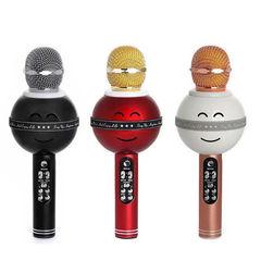 Беспроводной караоке микрофон WS-878