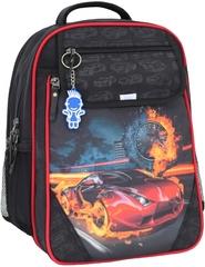 Рюкзак школьный Bagland Отличник 20 л. Черный (57м) (0058070)