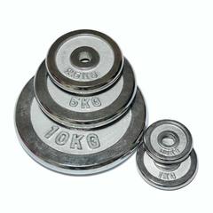 Диск 10 кг Body-GYM WP06 хром