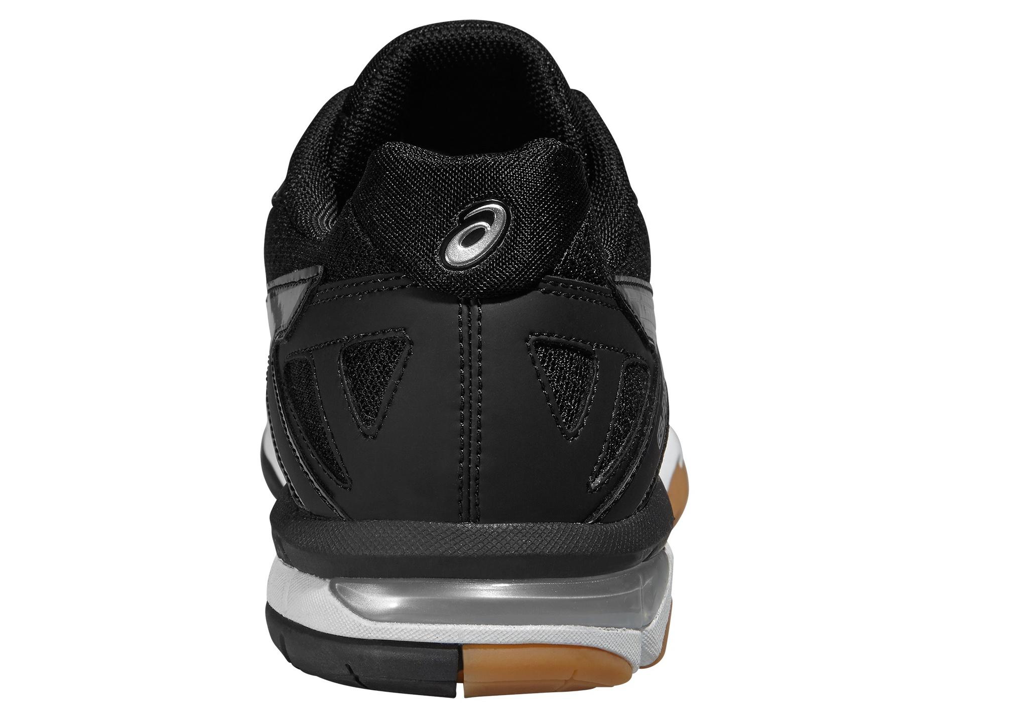 Мужские волейбольные кроссовки Асикс Gel-Tactic (B504N 9099) черные фото