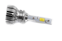 LED лампы головного света C-3 H27, (встроенный радиатор с вентилятором) комп.