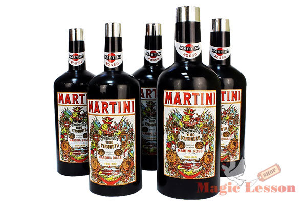 Размножающиеся бутылки Мартини