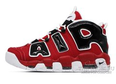 Кроссовки Nike Air More Uptempo Red Black White