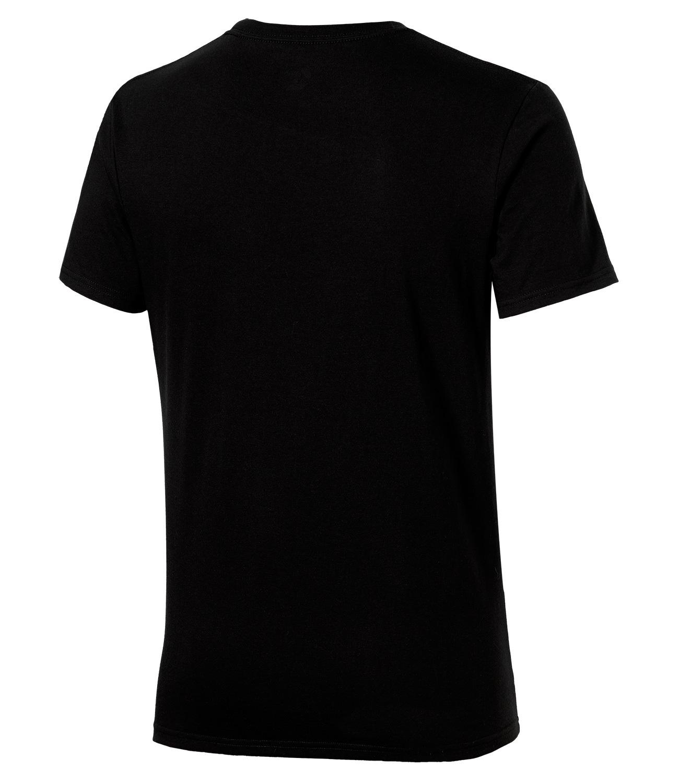 Мужская спортивная футболка Asics Graphic SS Top (131530 0904) черная фото
