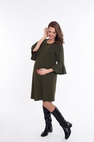 Платье 09076 зеленый