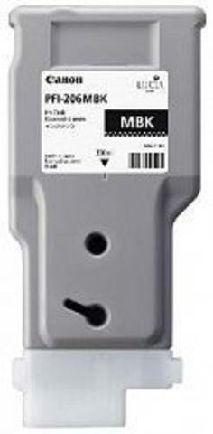 Картридж Canon PFI-206MBK matte black (матовый черный) для imagePROGRAF 6400/6450