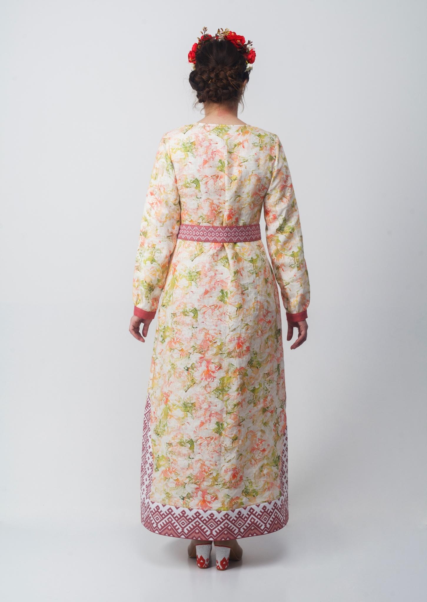 Платье Времена года Лето вид сзади