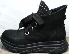 Женские демисезонные ботинки Rifellini Rovigo 525 Black.