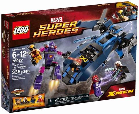 LEGO Super Heroes: Люди Икс против Стражей 76022