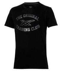 Мужская футболка Asics Graphic SS Top (131530 0904) черная фото