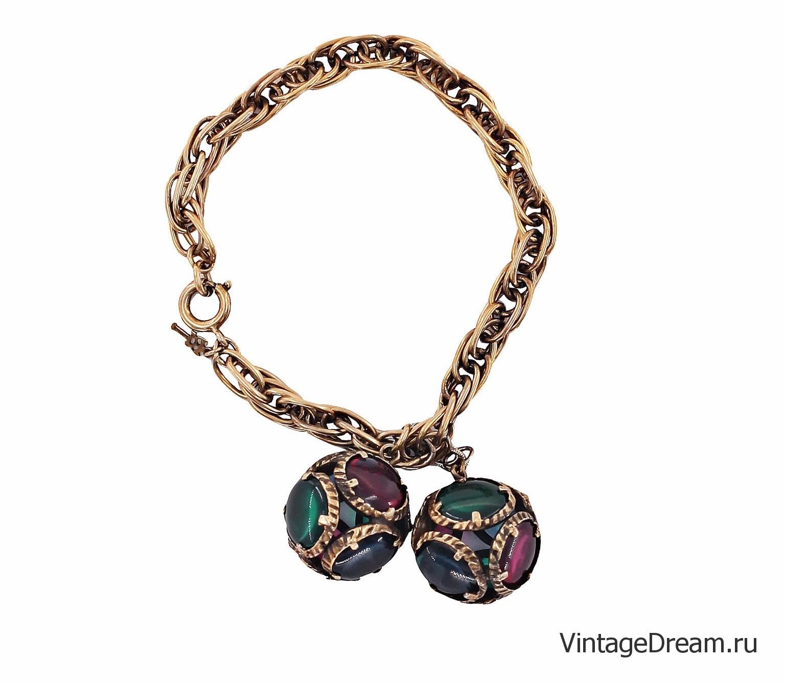 Коллекционный браслет Trifari из коллекции Renaissance 1964 года