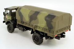 KAMAZ-4326 2-axle with awning camouflage Elecon 1:43 used